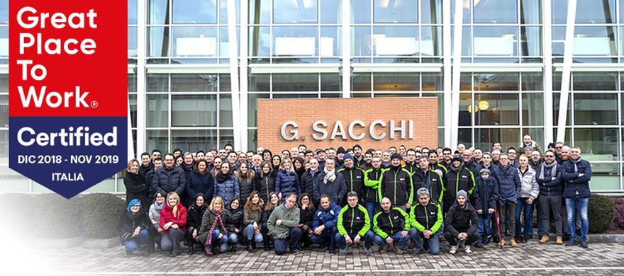 Great Place to Work Sacchi elettroforniture