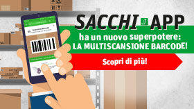 sacchi app multiscansione barcode